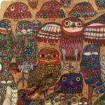 阿山隆之氏のアナホリフクロウと「2016パラアートTOKYO」展